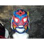 Mascara De Luchador Felino P/niño.
