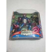 Marvel Super Hero Squad Sentinel Vs Cyclops Ciclope Universe