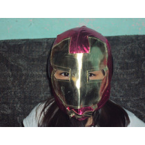 Mascara De Ironman P/niña Marvel Avengers Vengador Iron Man