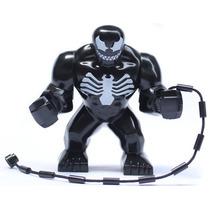 Figura Grande De 7.5 Cm Venom De Spiderman Minifigura Armar
