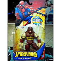 Juggernaut,serie Spiderman,casco Removible,nuevo,figura 17 C