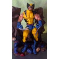 Figura De Marvel Wolverine Original