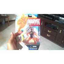 Marvel Universe Human Torch Flame On Antorcha Humana Fuego
