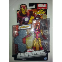 Iron Man, Marvel Legends, Epic Heroes, Figura En Caja