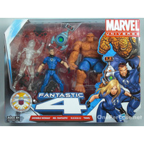 Marvel Universe Team Pack Fantastic Four Variante Invisible