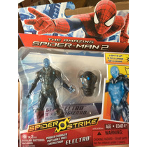 The Amazing Spiderman Electro Figura Con Luz