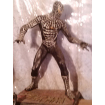 Figura De Resina Spiderman Black Marvel Legends Hombre Araña