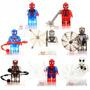 Set Spiderman Sw5 Hombre Araña Cristalf Compatible Con Lego