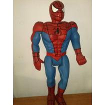 Spiderman Hombre Araña Vintage Bootleg 50 Cm Aprox