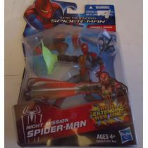 Hombre Araña Night Mission Spider-man Figura Acción