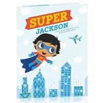 Hallmark Libro Personalizado: Super Hero- Boy