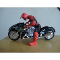 Spiderman Y Moto Maisto
