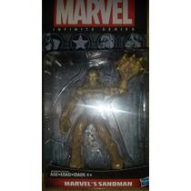Marvel Universe Infinite Series Sandman Variante Forma Arena