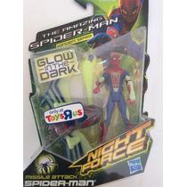 Marvel Universe Spider-man Night Force Glow In The Dark