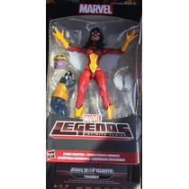 Marvel Legend Serie Infinita Spider Woman Baf Thanos