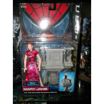 Mary Jane Spiderman Spider-man Toy Biz Marvel Legends Nuevo
