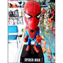 Spiderman,boble-head,marca Funko,loose,cabezon De 17 Cm.