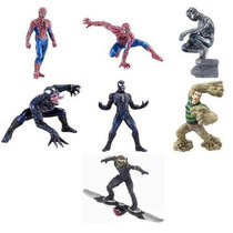 Figuras Marvel Gashapon De La Película Spiderman 3