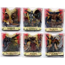Spawn Serie 33 Scarab Assassin, Crocodile King, Jackal King,