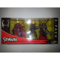 Mcfarlane Toys Spawn Weapons Of Mass Destruction 3 Pack