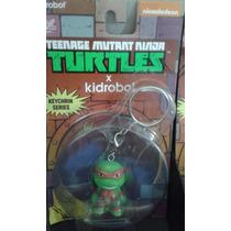*** Kidrobot Tmnt Tortugas Ninja Michelangelo Llavero ***
