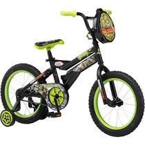 Bicicleta Nickelodeon De Las Tortugas Ninja