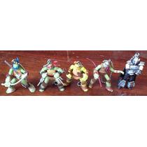 Set Tortugas Ninja Turtles Tmnt Mini Llavero Colgante Hm4