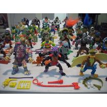 Tortugas Ninja C/accesorios Excelentes Condiciones!