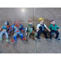 Gran Lote De Figuras Tortugas Ninja Dick Tracy Claritoys