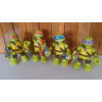 Nuevas Tortugas Ninja 15.5cm De Alto