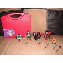 Playmobile Lote Figuras Caballeros Star Wars Mask He-man Dc