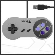 Control Clásico Super Nintendo Snes Usb Pc Y Mac Original