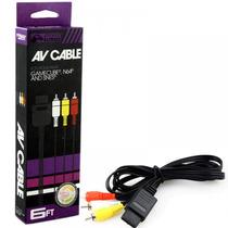 Cable Av Para Gamecube Nintendo 64 Y Super Nintendo Snes