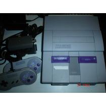 Super Nintendo + 8 Juegos /+ De 200 Tit.diferentes Paquete 6