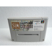 Sim City 2000 Super Nintendo Japonesa