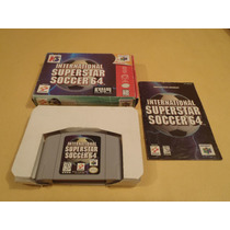 Internartional Superstar Soccer 64 Nintendo 64 Caja Y Manual