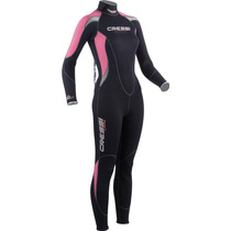 Tb Traje Cressi Summer 2.5mm Mujeres Back Zip Full Wetsuit