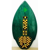 Skimboard Con Waxpad Pad Surf Skim Flat Land Surf Skate
