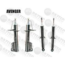 Kit Amortiguadores Avenger 07-10 Delanteros Y Traseros Gas