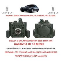 Bomba Licuadora Direccion Hidraulica P/caja Lincoln Ls
