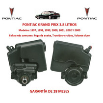 Bomba Licuadora Direccion Hidraulica Pontiac Grand Prix 2000