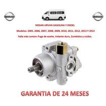 Bomba Licuadora Direccion Hidraulica P/caja Nissan Urvan Lbf