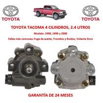 Bomba Licuadora Direccion Hidraulica Toyota Tacoma 4cyl 1998