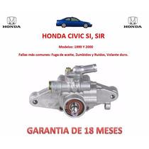 Bomba Licuadora Direccion Hidraulica P/caja Honda Civic Exr
