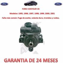 Bomba Licuadora Direccion Hidraulica P/ Caja Ford Contour V6