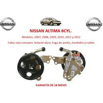 Bomba Licuadora Direccion Hidraulica Nissan Altima 6cyl 2007
