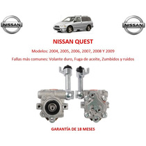 Bomba Licuadora Direccion Hidraulica Nissan Quest 2006