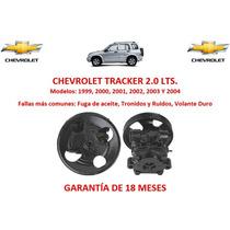 Bomba Licuadora Direccion Hidraulica Chevrolet Tracker 2000