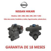 Bomba Licuadora Direccion Hidraulica Nissan Hikari 1988