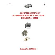 Soportes De Motor Y Transmisión Pontiac Soltice